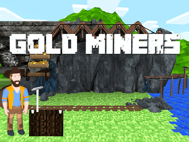 Игровой автомат Gold Miners