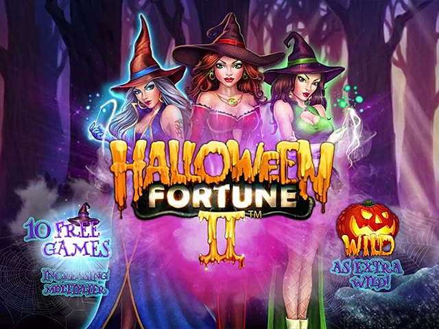 Игровой автомат Halloween Fortune II